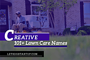 101+ Creative Lawn Care Names - Let's Do Startup