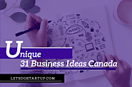 Top 31 Unique Small Business Ideas Canada In 2019 - Let's Do Startup