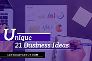 Top Unique 21 Business Ideas With Low Investment And High Profit 2019