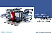 One-Stop solution to choose the Right Document Indexing for Business Files