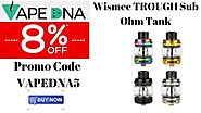 Wismec TROUGH Sub Ohm Tank – You'd Be Crazy to Miss This – Australia Online Vaping Store