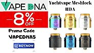 Yachtvape Meshlock RDA – Prices are low – Now don't be slow with 8% OFF – Australia Online Vaping Store