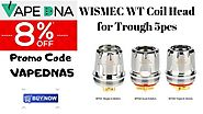 WISMEC WT Coil Head for Trough 5pcs – Limited time offer – Hurry up with 8% OFF – Australia Online Vaping Store