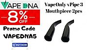 VapeOnly vPipe 3 Mouthpiece 2pcs - Shop Now & Get 8% OFF - VAPEDNA Australia Online Vape Store