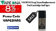 VOOPOO Drag Nano Replacement Pod Cartridge 1ml 4pcs – Our Lowest Prices Ever with 8% OFF – Australia Online Vaping Store