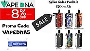 Syiko Galax Pod Kit 1200mAh – Prices are low – Now don't be slow Enjoy 8% OFF – Australia Online Vaping Store