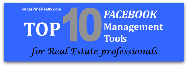 Headline for Top 10 Facebook Management Tools for Real Estate Professionals