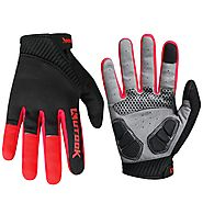 Kutook Bike Gloves Full Finger - Bicycle Gloves - Cycling Gloves Gel Pad – Geareach