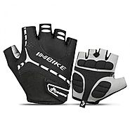 INBIKE Breathable Half Finger Bicycle Gloves with Thick Padding – Geareach