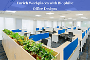 Enrich Workplaces with Biophilic Office Designs | Blog