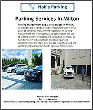 Parking services in Milton