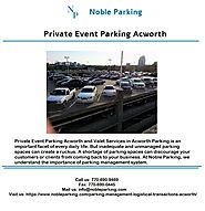 Private Event Parking Acworth