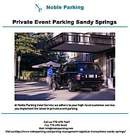Private Event Parking Sandy Springs