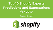 Top 10 Shopify Experts Predictions and Expectations for 2019 - ThinkTanker