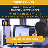 ThinkTanker Becomes One of the Top Shopify Development Company in India