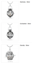 Buy Perfume Bottle Pendant Necklace from Online Store