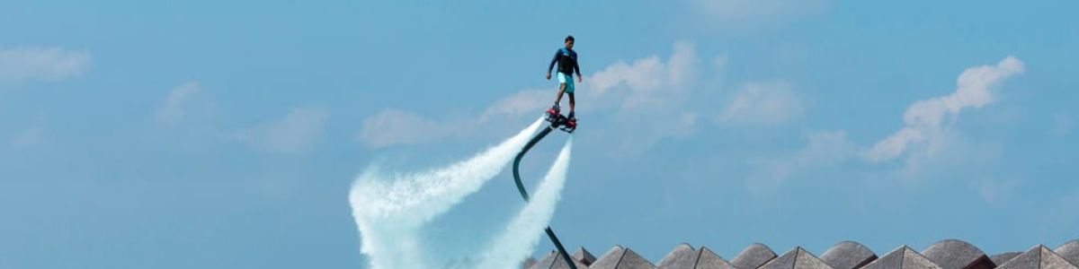 Headline for Facts about Fly Boarding in the Maldives - A Mini-Guide for a Beginner