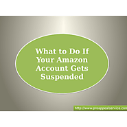 What to Do When Your Amazon Account Gets Suspended