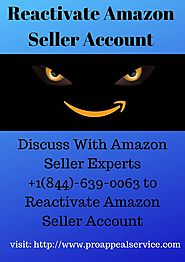 How to Reactivate Amazon Seller Account
