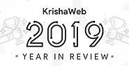 KrishaWeb Year in Review 2019 - Fantastic Journey Throughout the Year