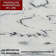 White Marble in Rajsamand | Mangalam Marmotiles Pvt. Ltd.