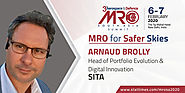 Arnaud Brolly - Head of Portfolio Evolution & Digital Innovation, SITA