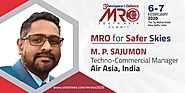 M.P.Sajumon - Techno-Commercial Manager, Air Asia, India