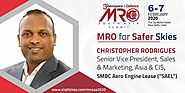 "Christopher Rodrigues - Senior Vice President, Sales & Marketing, Asia & CIS, SMBC Aero Engine Lease (""SAEL"")"