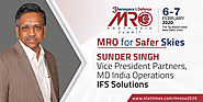 Sunder Singh - Vice President Partners, MD India Operations, IFS Solutions