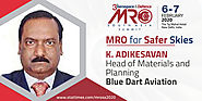 K. Adikesavan - Head of Materials and Planning, Blue Dart Aviation