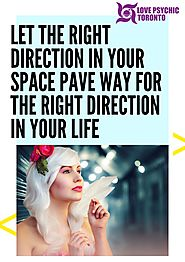 Let the right direction in your space pave way for the right direction in your life