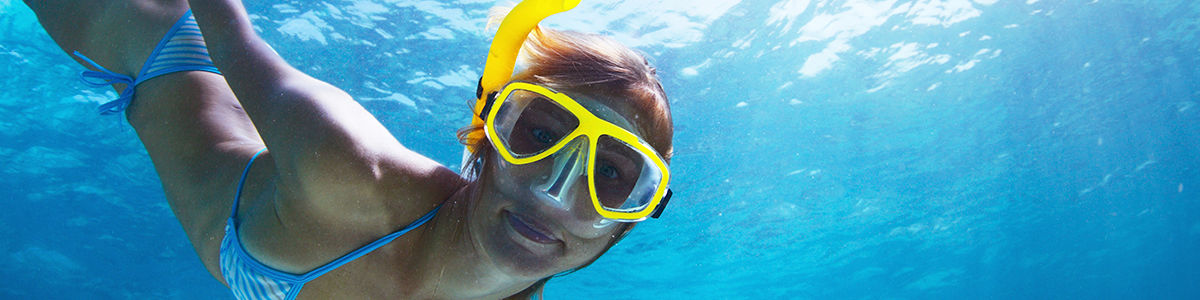 Headline for First Time Snorkelling Tips - Explore the World Hidden Away