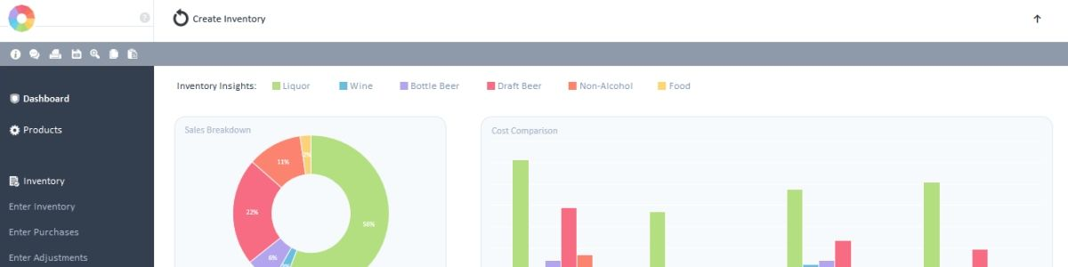 Headline for Bar Cop Inventory Management Software Features