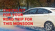 PPT - Checklist For Your Road Trip For This Monsoon. PowerPoint Presentation - ID:8441406
