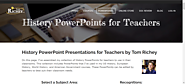 History PowerPoints for Teachers