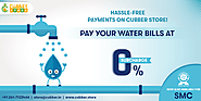 Pay Your Water Bill at 0% Surcharge on Cubber.Store