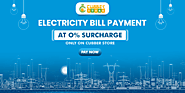 Online Electricity Bill Payment with 0% Surcharges at Cubber Store
