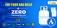 Gas Bill Payment with 0% Convenience fee at Cubber Store