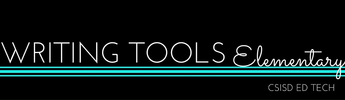 Headline for Writing Tools- Elementary
