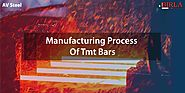Know the Full Manufacturing Process of TMT BARS | AV Steel & Power