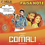 "Listen to Paisa Note (From ""Comali"") Songs by Hiphop Tamizha - Download Paisa Note (From ""Comali"") Song Online On Jio..."