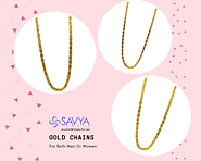 Antique Gold Chains For Both Men Or Women