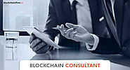 Blockchain consulting services company