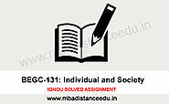 IGNOU BEGC 131 Solved Assignment 2019-20 - Distance Education