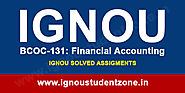 IGNOU BCOC 131 Solved Assignment 2019-20 - Ignou Student Zone