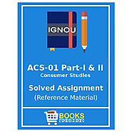IGNOU ACS 1 Solved Assignment 2019-20 | bookstrolley.in