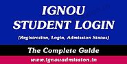 IGNOU Student Login 2020 - IGNOU Admission