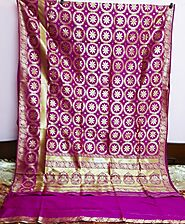 Ethnic Opara Silk Saree - Saree for Any Traditional Festival
