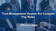 Time Management System For Complex Pay Rules