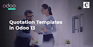 Quotation Templates in Odoo 13